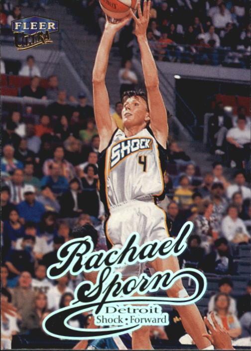 1999 Ultra WNBA #64 Rachael Sporn RC