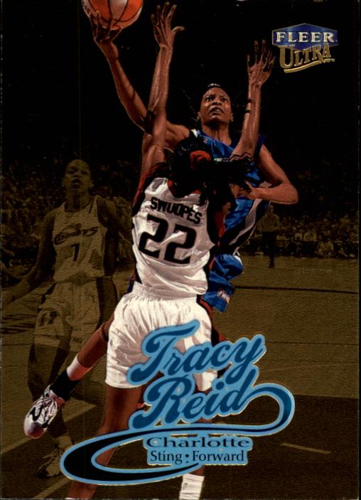 1999 Ultra WNBA #71 Tracy Reid RC
