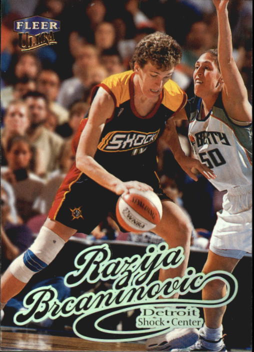 1999 Ultra WNBA #73 Razija Brcaninovic RC