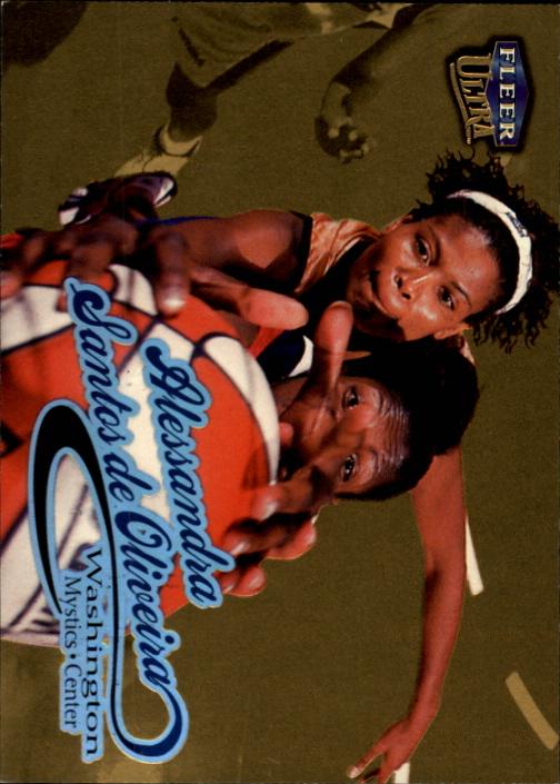 1999 Ultra WNBA Gold Medallion #19 Alessandra Santos de Oliveria