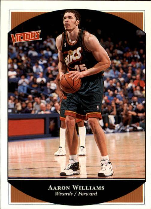 1999-00 Upper Deck Victory #244 Aaron Williams