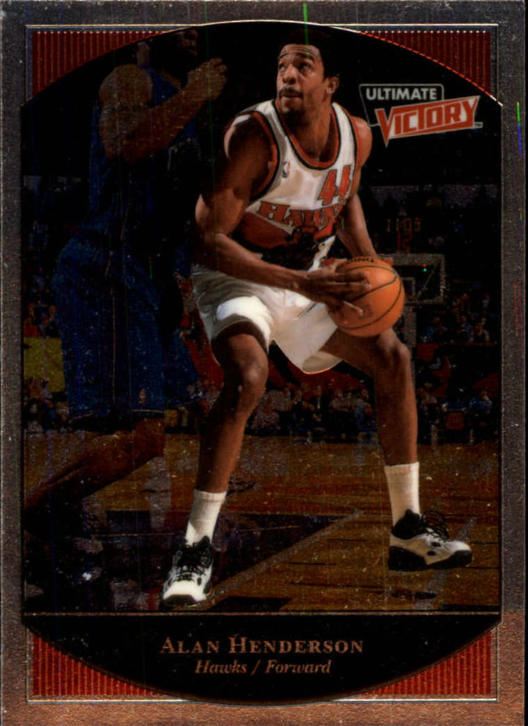1999-00 Ultimate Victory #2 Alan Henderson