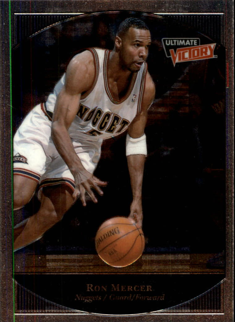 1999-00 Ultimate Victory #21 Ron Mercer