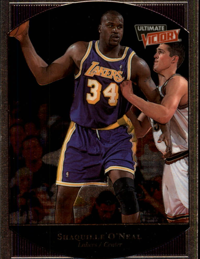 1999-00 Ultimate Victory #38 Shaquille O'Neal