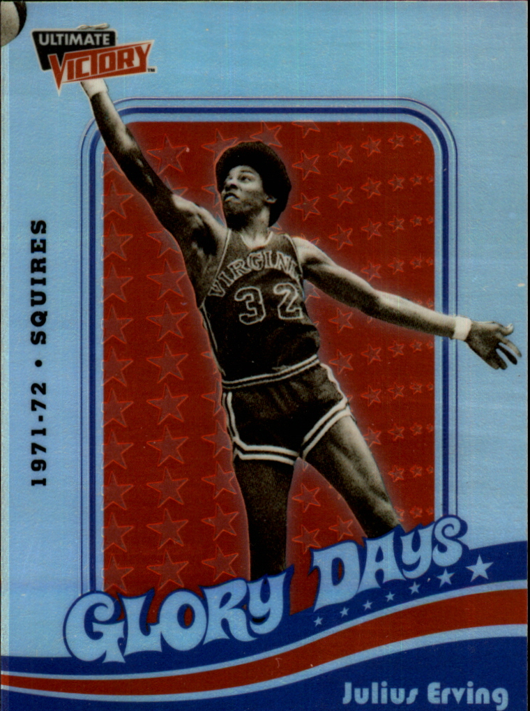1999-00 Ultimate Victory Dr. J Glory Days #DR1 Julius Erving