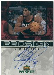 1999-00 Upper Deck MVP ProSign #JJ Jim Jackson