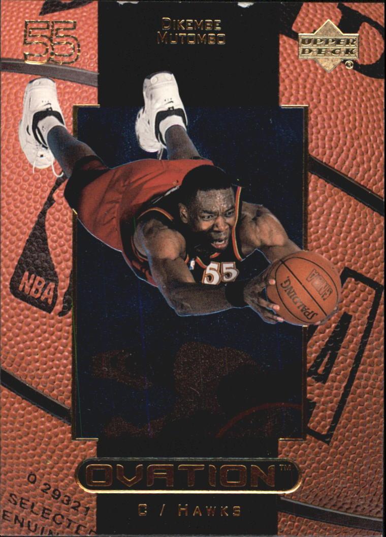 1999-00 Upper Deck Ovation #1 Dikembe Mutombo
