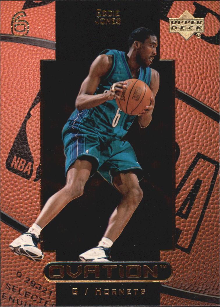 1999-00 Upper Deck Ovation #6 Eddie Jones