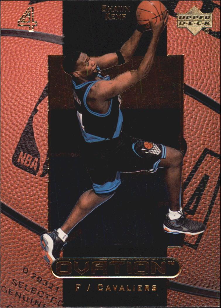 1999-00 Upper Deck Ovation #9 Shawn Kemp