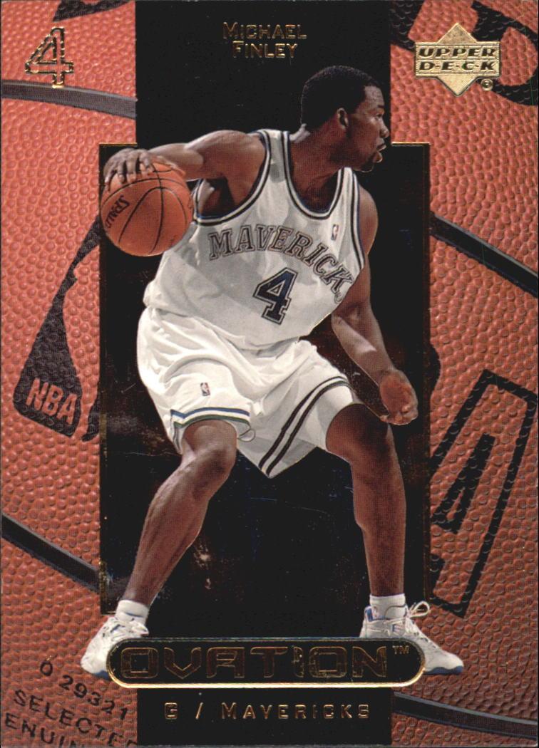 1999-00 Upper Deck Ovation #11 Michael Finley