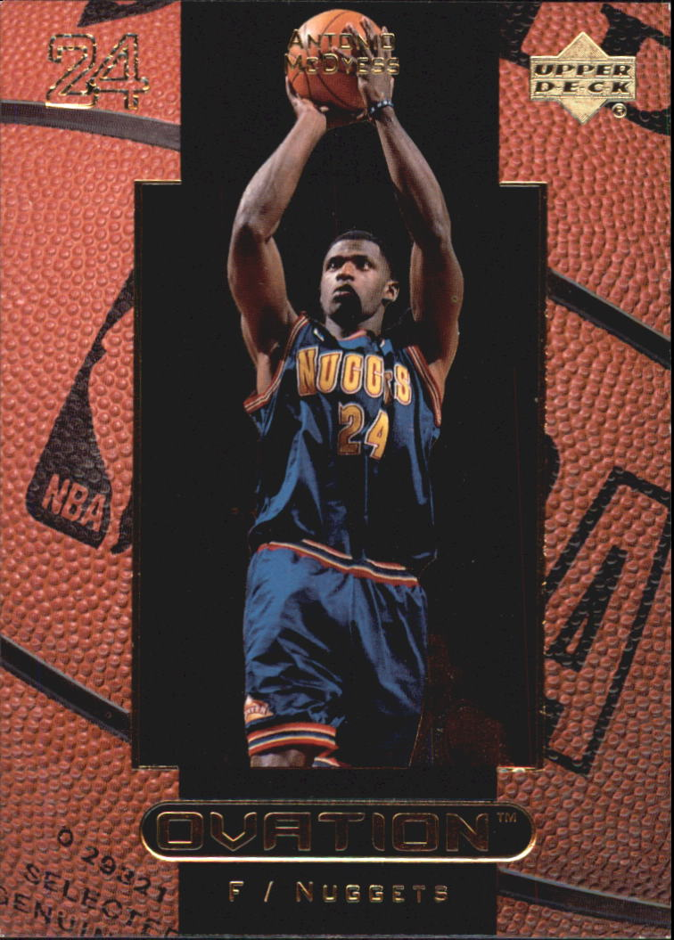 1999-00 Upper Deck Ovation #14 Antonio McDyess