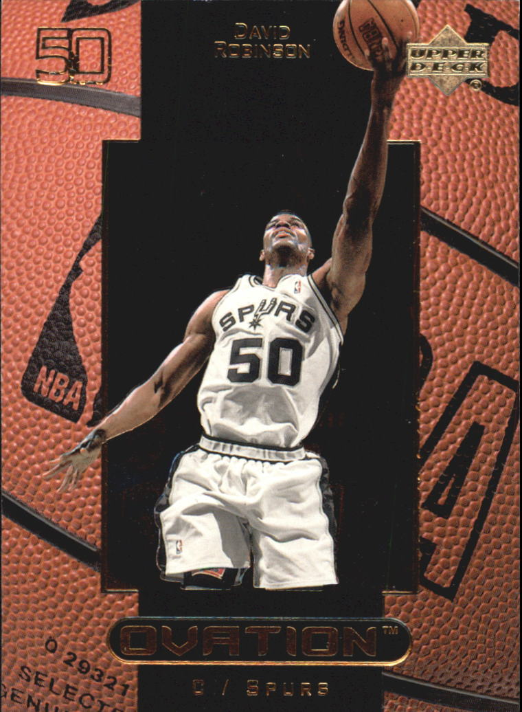 1999-00 Upper Deck Ovation #49 David Robinson