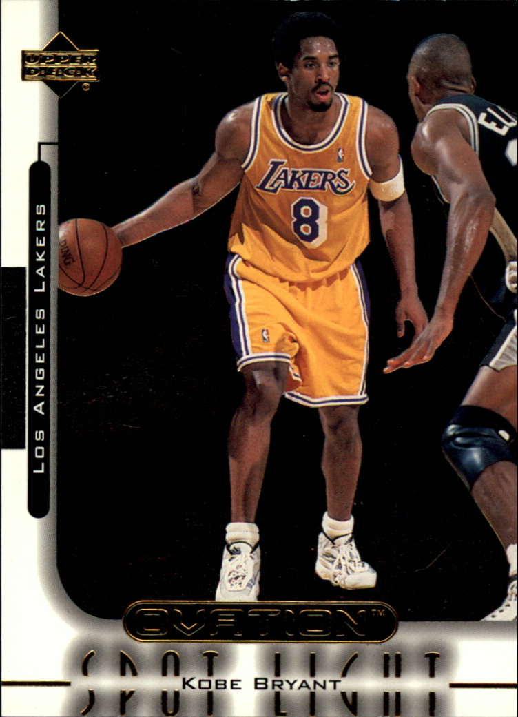 1999-00 Upper Deck Ovation Spotlight #OS3 Kobe Bryant