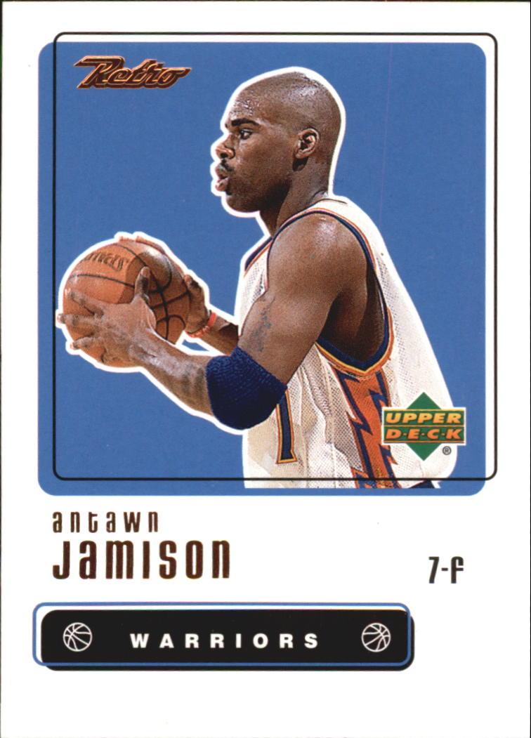 1999-00 Upper Deck Retro #3 Antawn Jamison