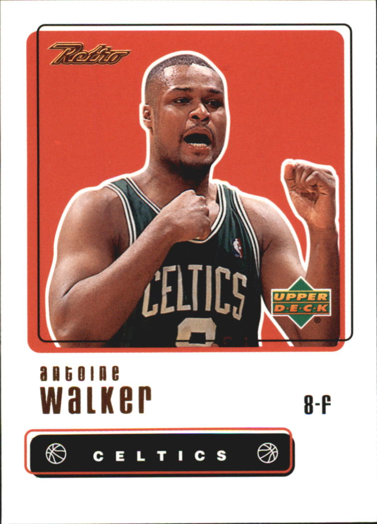 1999-00 Upper Deck Retro #89 Antoine Walker