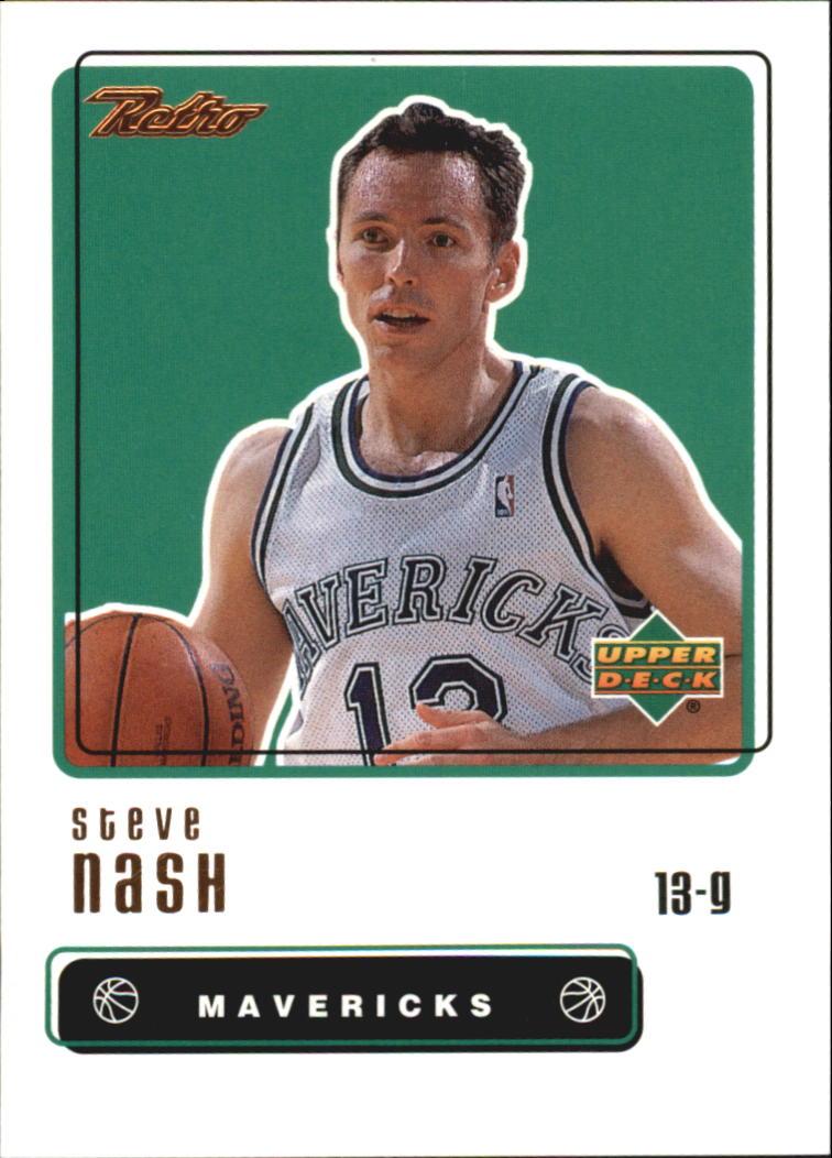 1999-00 Upper Deck Retro #90 Steve Nash
