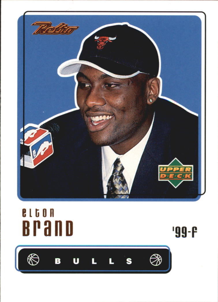 1999-00 Upper Deck Retro #107 Elton Brand RC