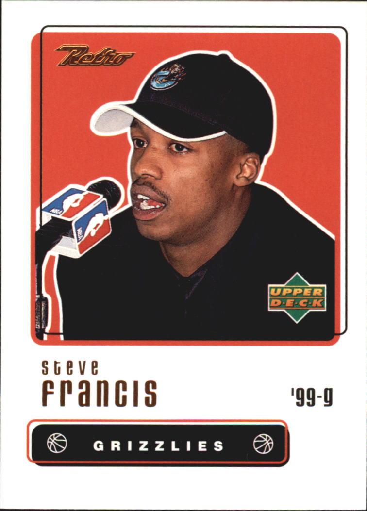 1999-00 Upper Deck Retro #109 Steve Francis RC