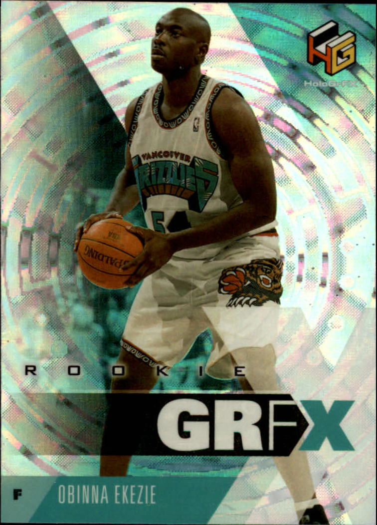 1999-00 Upper Deck HoloGrFX #80 Obinna Ekezie RC