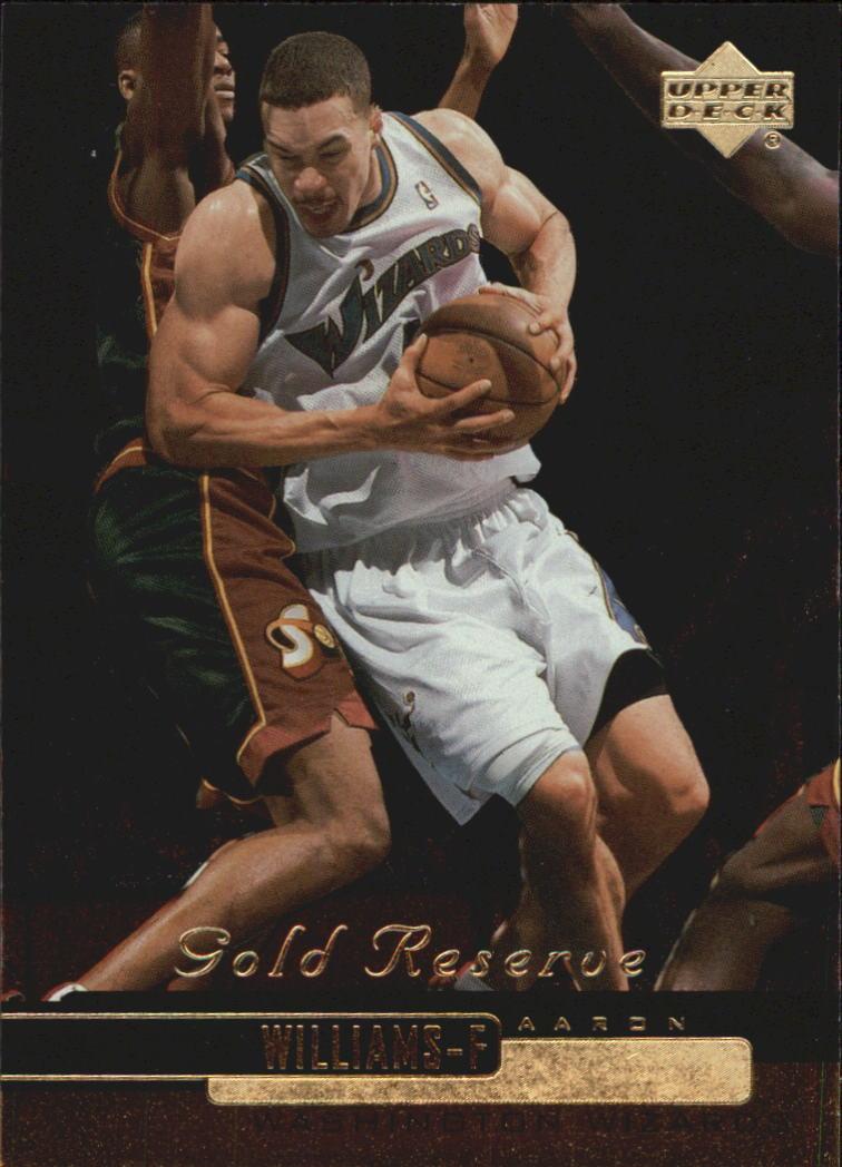 1999-00 Upper Deck Gold Reserve #236 Aaron Williams