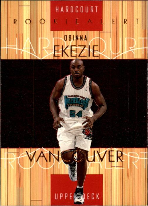 1999-00 Upper Deck Hardcourt #89 Obinna Ekezie RC