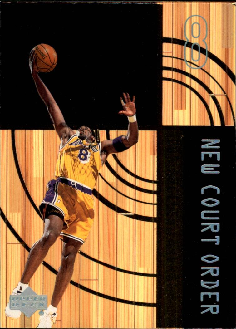 1999-00 Upper Deck Hardcourt New Court Order #NC8 Kobe Bryant