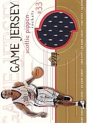 1999-00 Upper Deck Game Jerseys #GJ12 Scottie Pippen