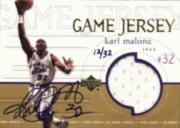 1999-00 Upper Deck Game Jerseys #GJ20 Karl Malone