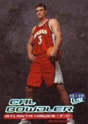 1999-00 Ultra #137 Cal Bowdler RC