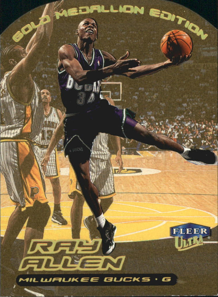 1999-00 Ultra Gold Medallion #3 Ray Allen