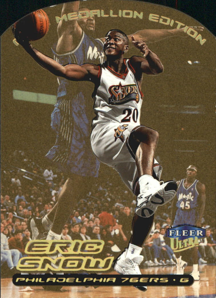 1999-00 Ultra Gold Medallion #18 Eric Snow