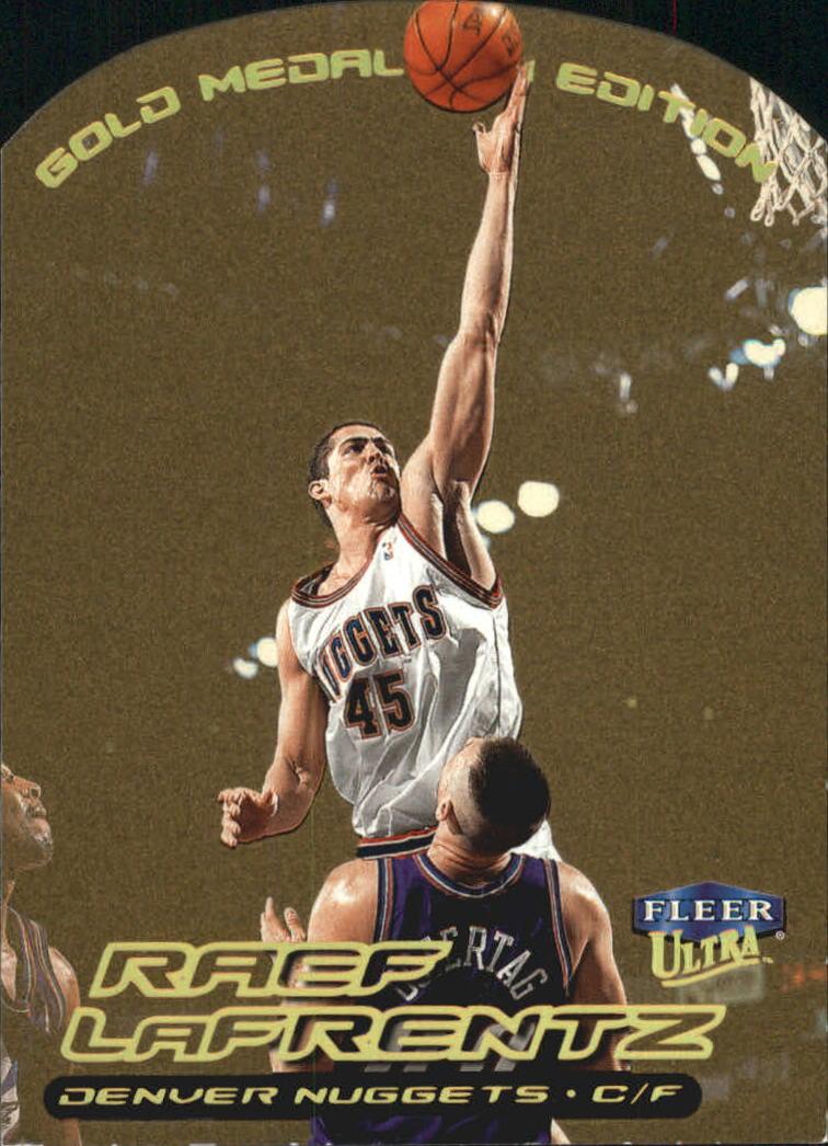1999-00 Ultra Gold Medallion #19 Raef LaFrentz