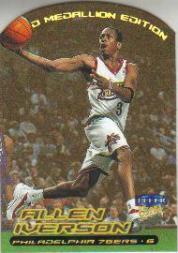 1999-00 Ultra Gold Medallion #20 Allen Iverson