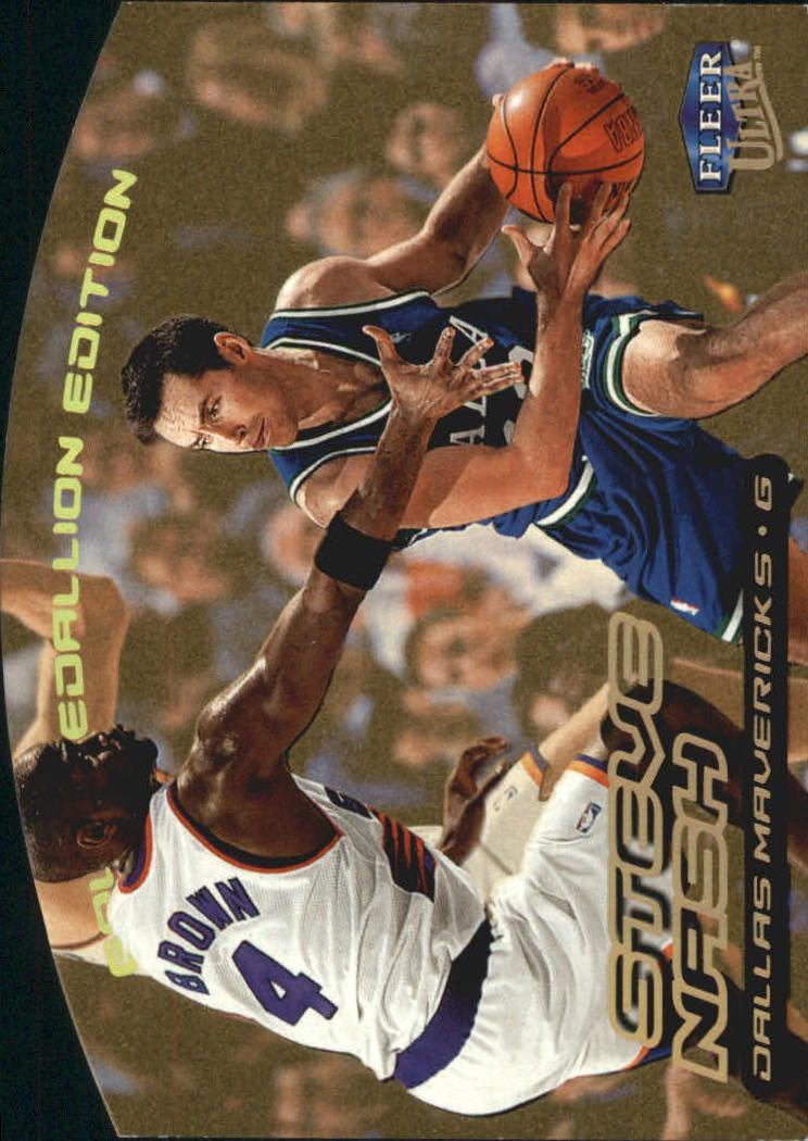 1999-00 Ultra Gold Medallion #28 Steve Nash
