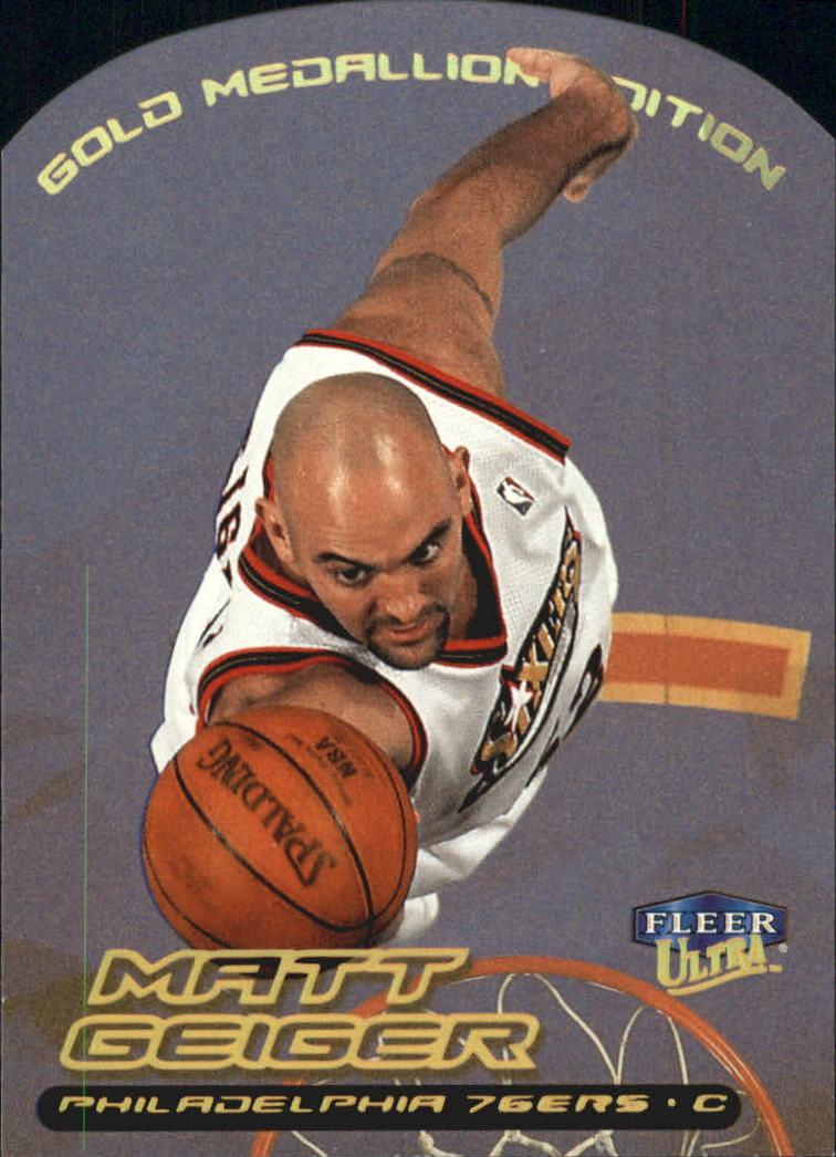1999-00 Ultra Gold Medallion #31 Matt Geiger