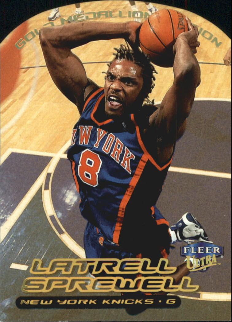 1999-00 Ultra Gold Medallion #45 Latrell Sprewell