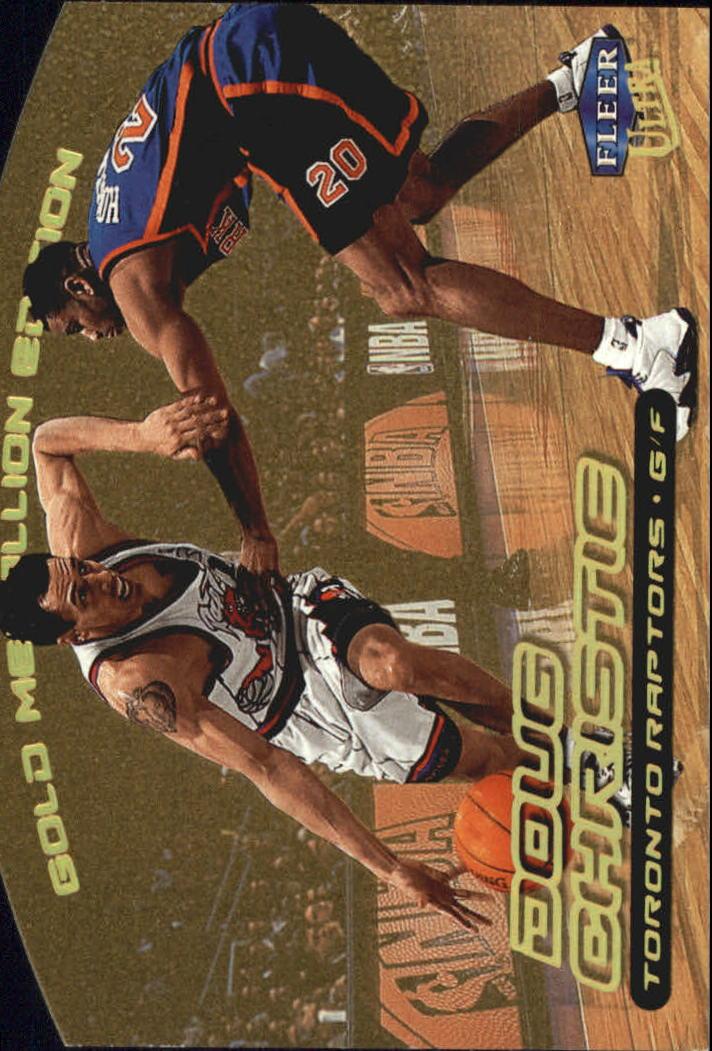 1999-00 Ultra Gold Medallion #55 Doug Christie