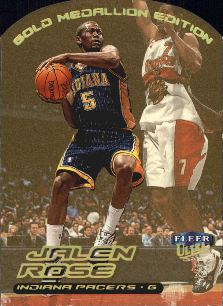 57578f71021 1999-00 Ultra Gold Medallion  57 Jalen Rose