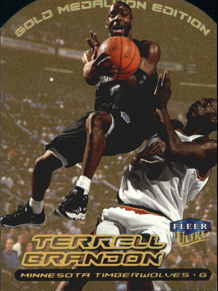 1999-00 Ultra Gold Medallion #68 Terrell Brandon