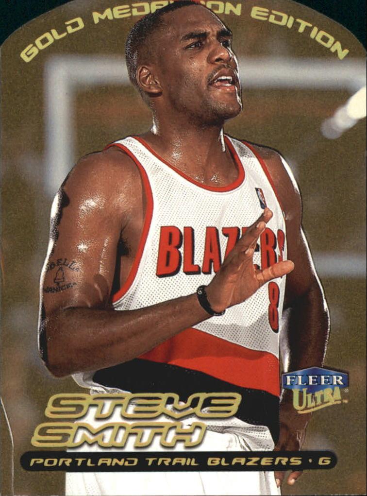 1999-00 Ultra Gold Medallion #91 Steve Smith