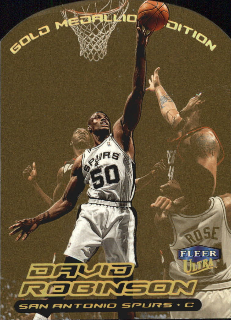 1999-00 Ultra Gold Medallion #125 David Robinson