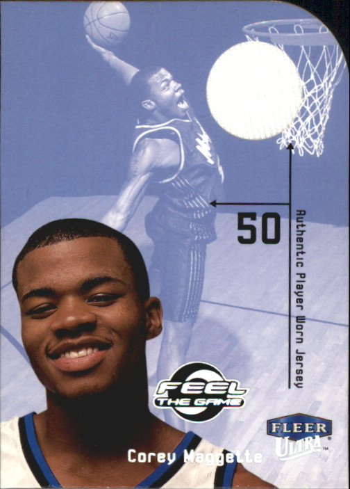 1999-00 Ultra Feel the Game #10 Corey Maggette