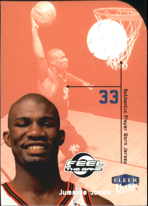 1999-00 Ultra Feel the Game #15 Jumaine Jones