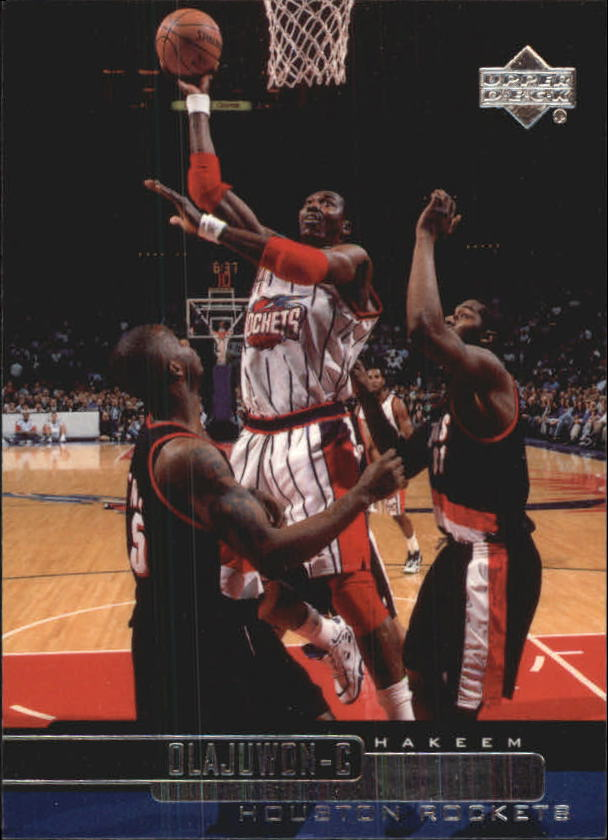 1999-00 Upper Deck #43 Hakeem Olajuwon
