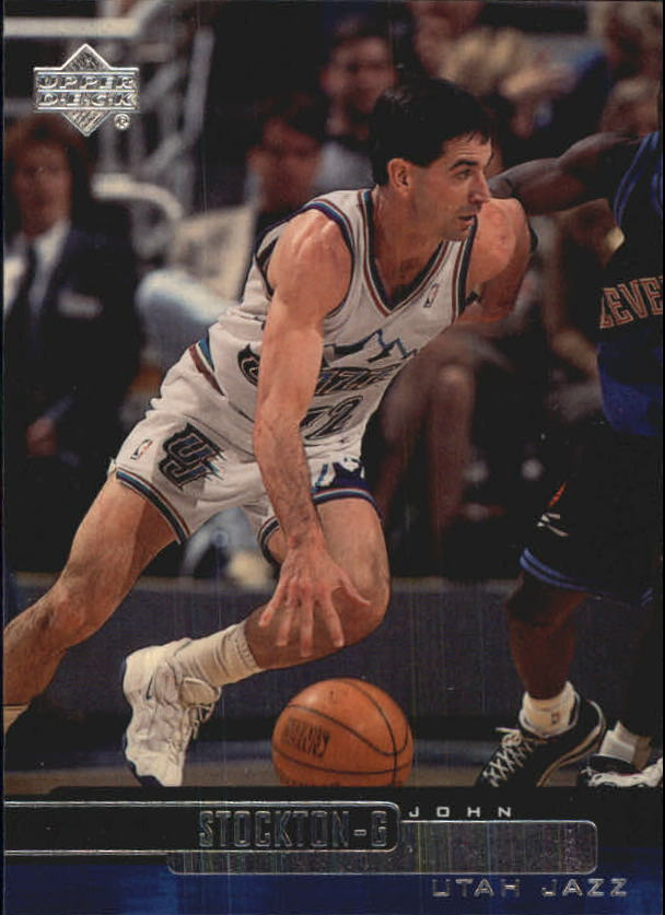 1999-00 Upper Deck #121 John Stockton