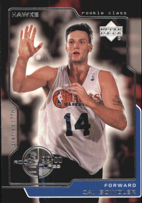 1999-00 Upper Deck #172 Cal Bowdler RC