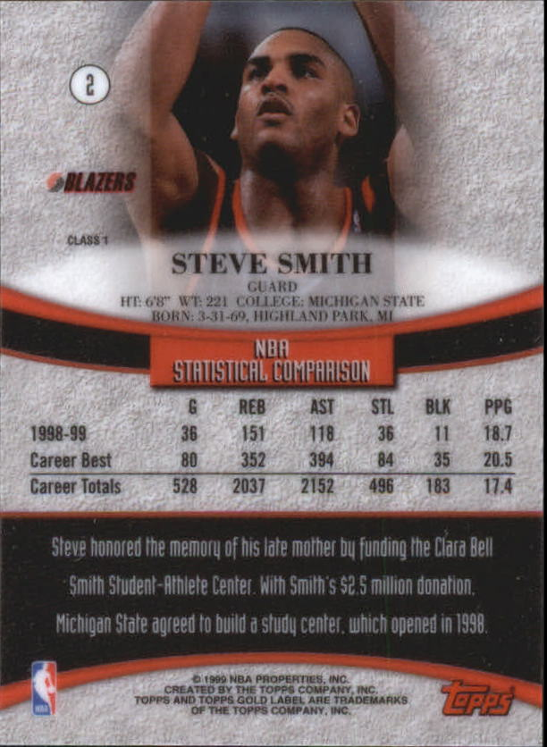 1999-00-Topps-Gold-Label-Class-1-Basketball-Cards-Pick-From-List thumbnail 5