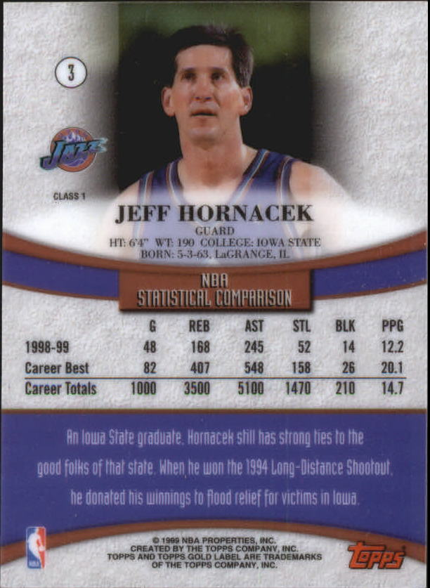 1999-00-Topps-Gold-Label-Class-1-Basketball-Cards-Pick-From-List thumbnail 7