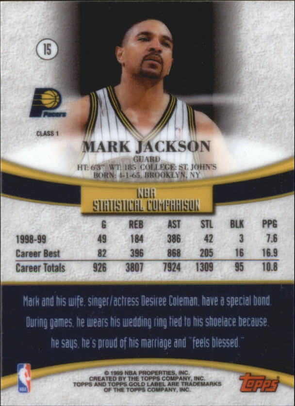 1999-00-Topps-Gold-Label-Class-1-Basketball-Cards-Pick-From-List thumbnail 29