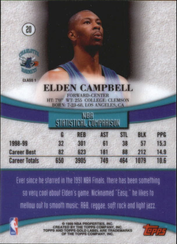 1999-00-Topps-Gold-Label-Class-1-Basketball-Cards-Pick-From-List thumbnail 39
